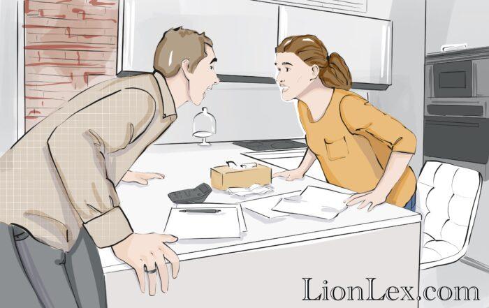 как делится квартира при расторжении брака